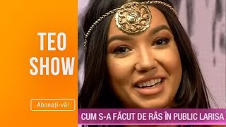 Teo Show (06.03.2019) - Larisa Udila, interviu de poveste! Cand s-a facut de ras ultima da ...