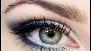 видео Макияж для голубых глаз и русых волос пошагово фото