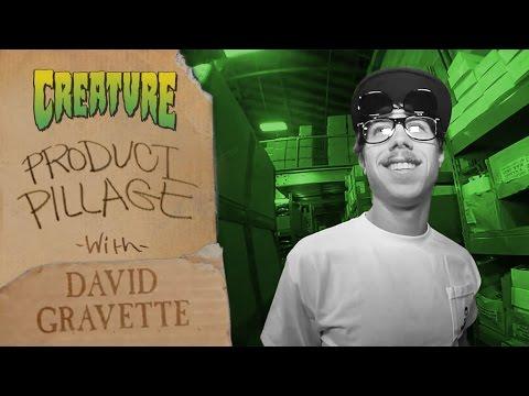 Product Pillage: David Gravette for Creature Skateboards