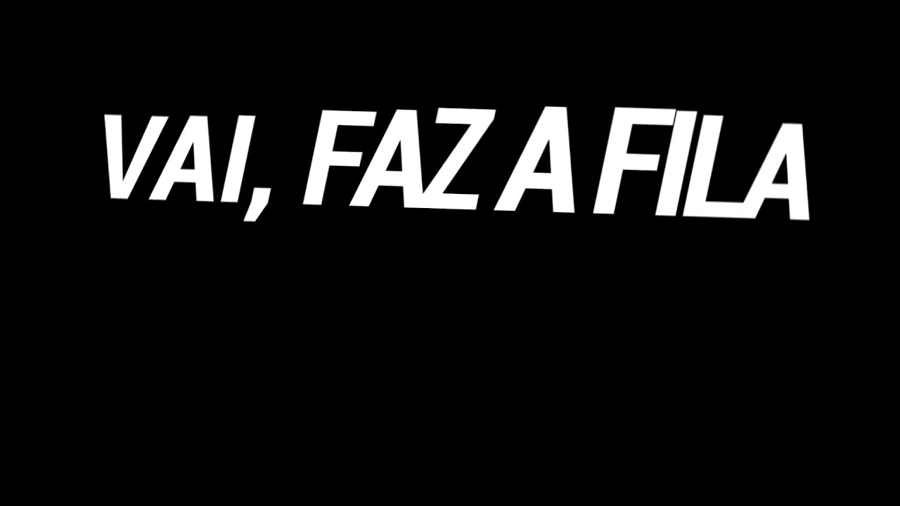 saludo Facturable Ejemplo  Vai faz a fila tipografia - YouTube