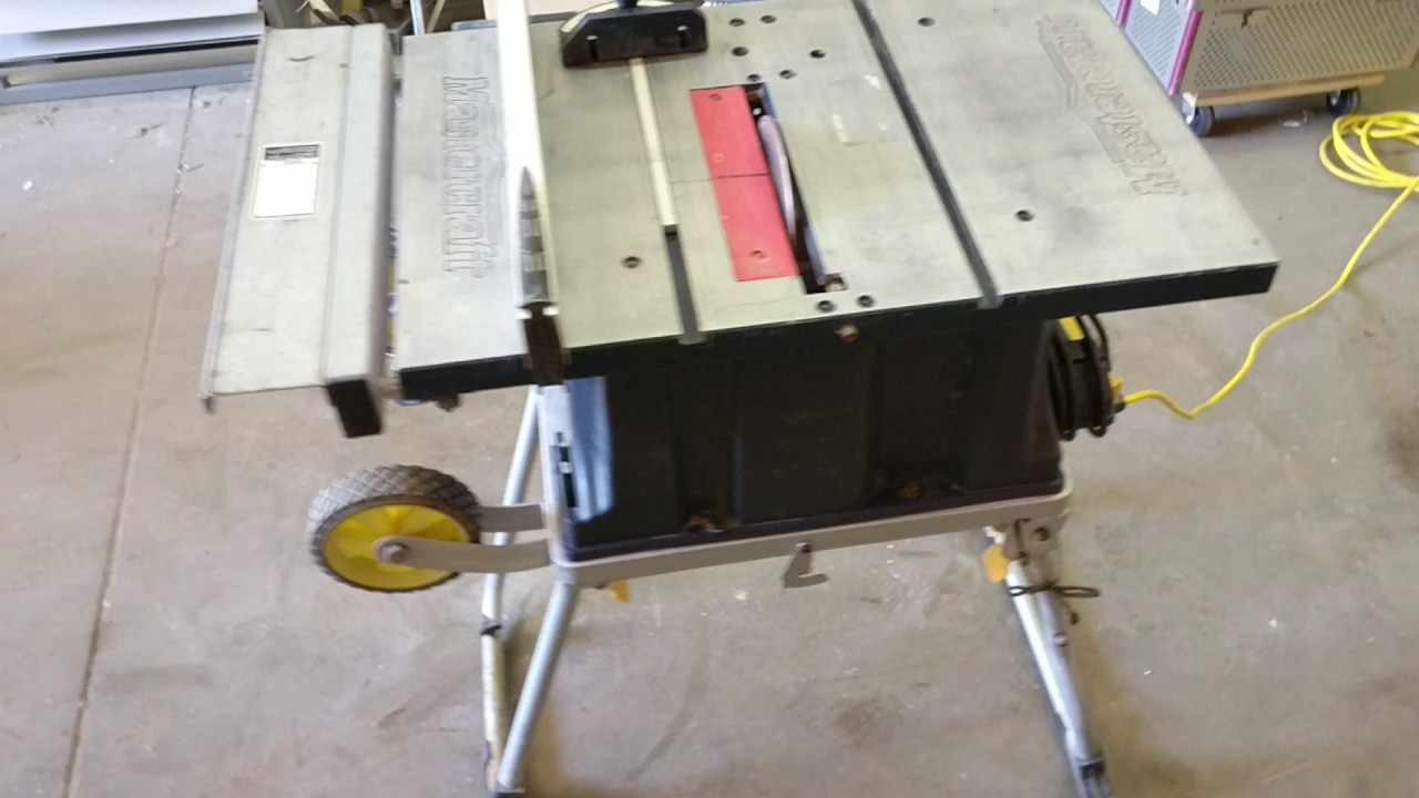 Mastercraft table saw youtube mastercraft table saw greentooth Images