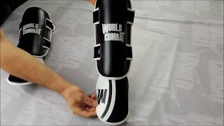 Caneleira World Combat Sport Training - Preto