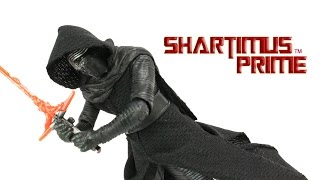Star Wars Kylo Ren Black Series The Force Awakens 6 Inch Toy Episode VII 7 Movie Figure Review