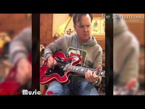 Joe Bonamassa - Playing On 1963 Epiphone Professional HD