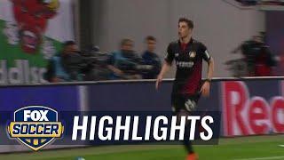 Kai Havertz equalizes for Bayer Leverkusen | 2017-18 Bundesliga Highlights