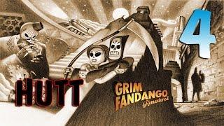 Grim Fandango Remastered. #4. Бессердечный Глоттис.