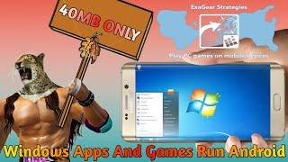 How To Run Windows Apps And Games in Android By Just Installing 1 App