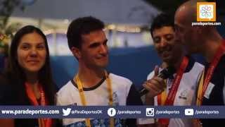La emoción de Rodrigo López y el afecto de sus compañeros
