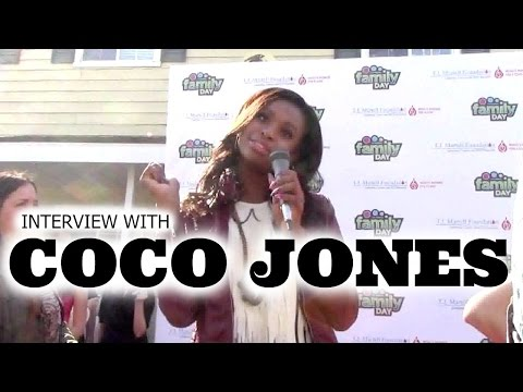 Interview with Coco Jones - TJ Martell Family Day