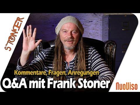 Q&A mit Frank Stoner   Kommentare, Fragen, Anregungen