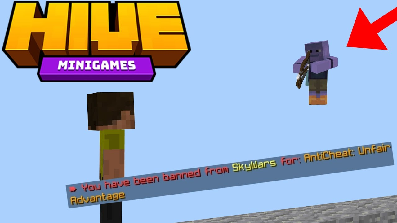 The Hive Skywars Trap That Gets You Banned