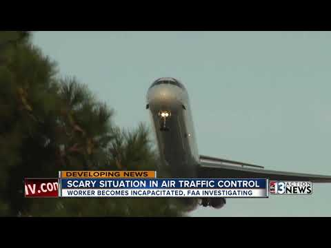 FAA investigating after air traffic controller incapacitated in Las Vegas