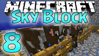 Minecraft: SkyBlock Survival Episode 8 - Bone Meal Thief!