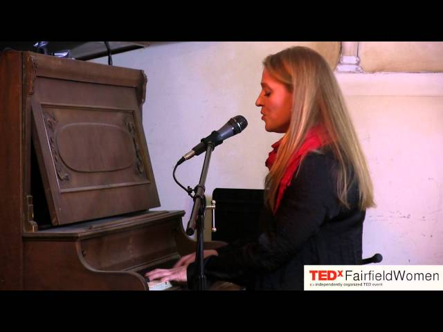 Musical performance: Sara Sanders at TEDxFairfieldWomen
