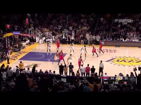 Kobe Bryant Amazing Dunks From 2012/2013 Season
