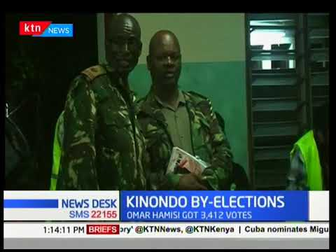 Jubilee party  rendered a big blow after ODM won Kinondo ward by election with a landslide.
