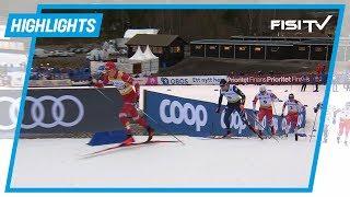 Pellegrino sfiora il podio a Falun