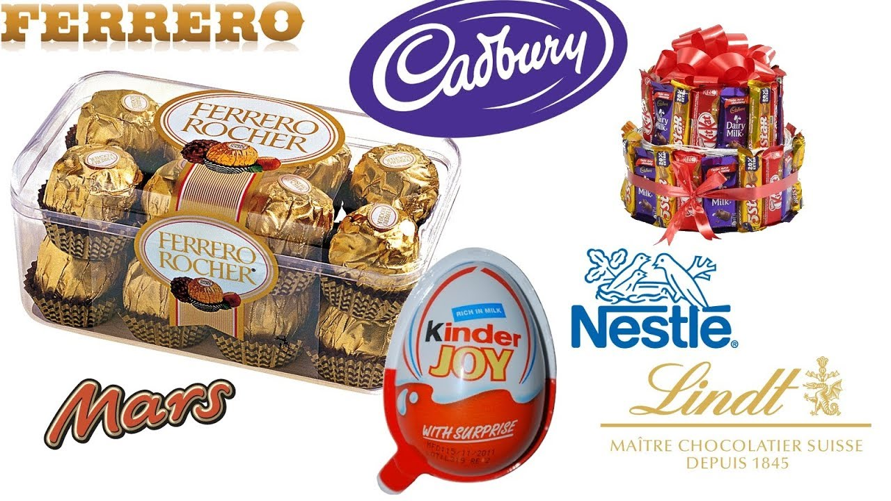top chocolate making companies in the world