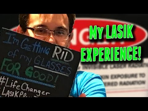 My full LASIK experience from start to end-- watch this!