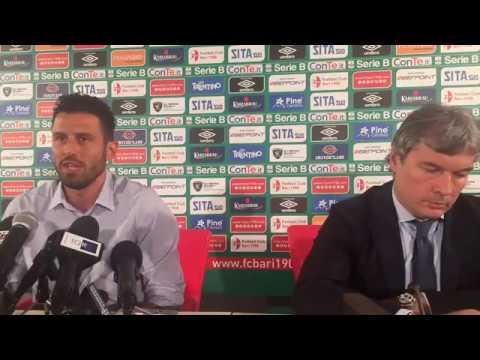 Conferenza stampa - Presentazione del Mister Fabio Grosso 21/06/2017