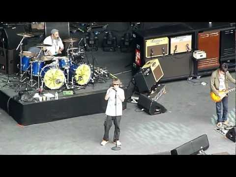 THE STONE ROSES - LYON FOURVIERE - 25.06.12 - SOUNDCHECK -MICHELLE/SUGAR SPUN SISTER HD