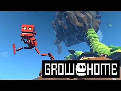 Grow home gameplay ITA: Ep1 - Primi passi in un mondo alieno!