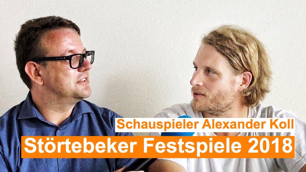 Stortebeker Festspiele 2018 Interview Mit Alexander Koll Klaus