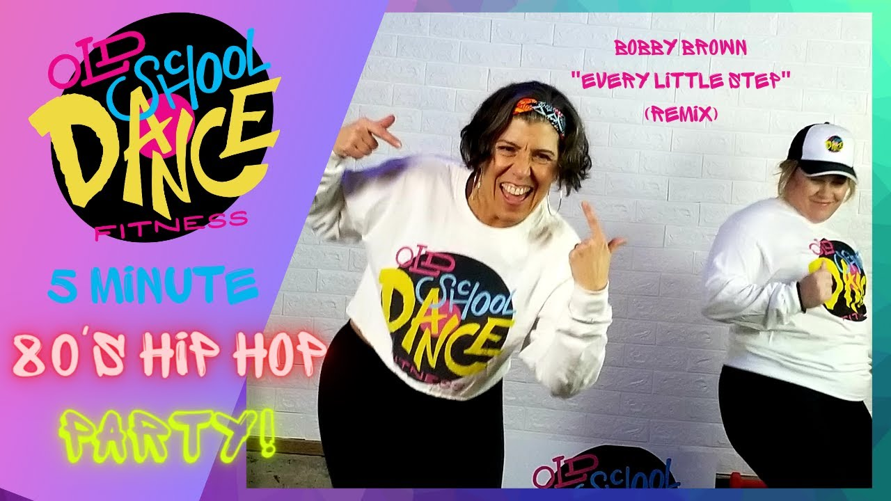 """Download 80's Dance Fitness Workout """"Every Little Step"""" Bobby Brown with Old School Dance Fitness"""
