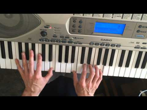 How To Play Keyboard for Deja Vu by Crosby Stills Nash and Young.
