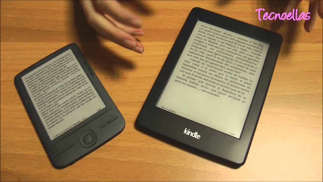 Tecnoellas: Consejos para elegir un lector de libros