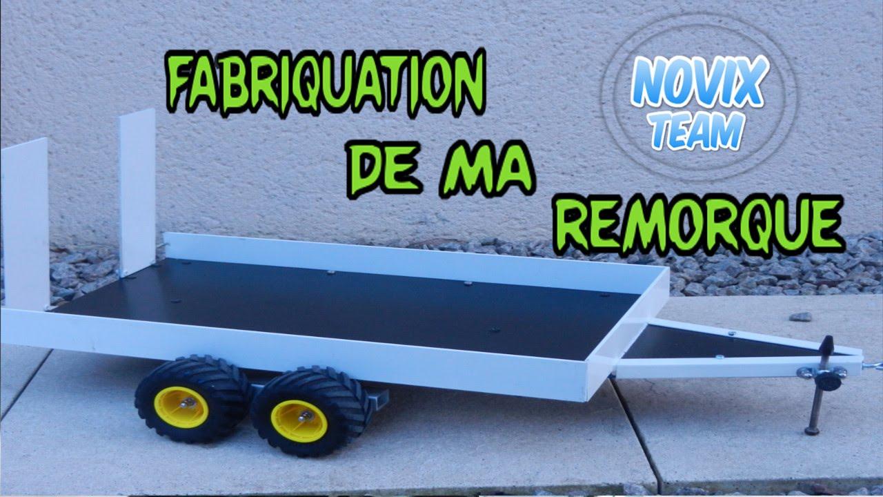 remorque plateau rc