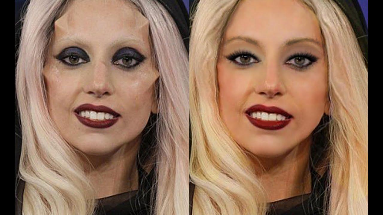 Lady Gaga Extreme Photoshop Makeover Youtube