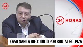 Declaración de carabinera culpa a Mauricio Ortega del ataque a Nabila Rifo