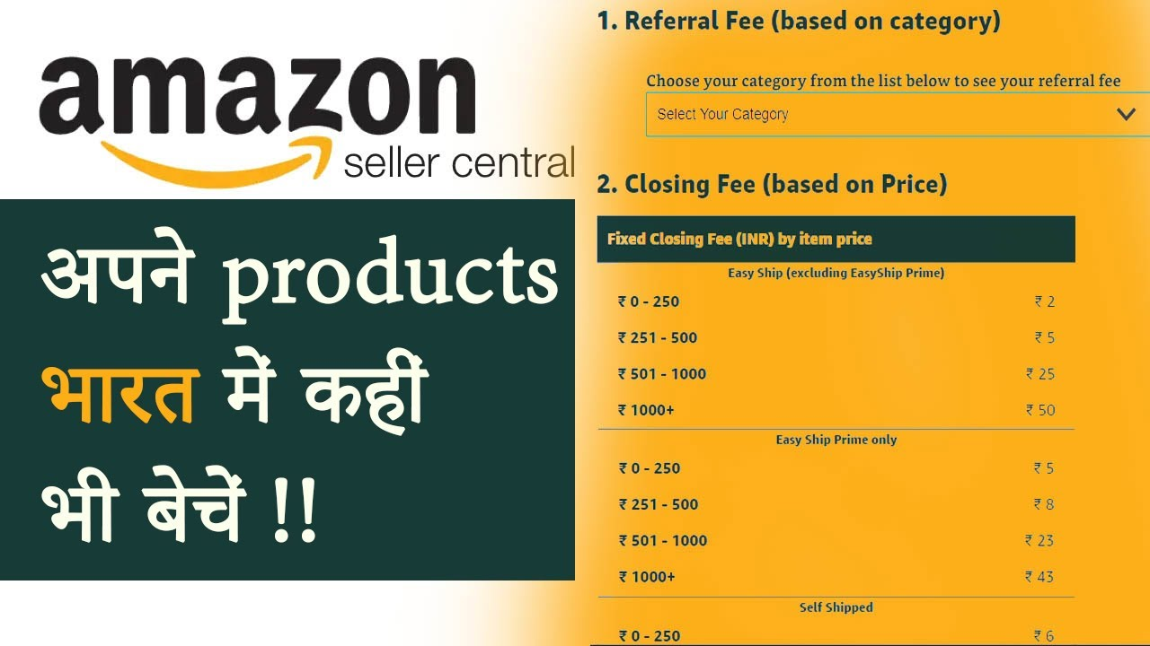 How to become an Amazon Seller in India in 2020 - Video in Hindi