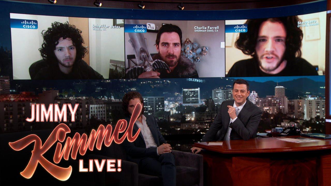 Kit Harington Judges Jon Snow Impersonators