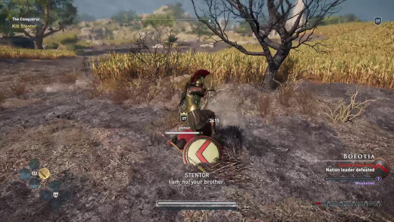 Assassin S Creed Odyssey Gameplay Ps4 Pro Youtube