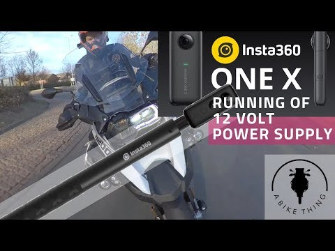 Insta360 ONE X Running off 12 Volt supply