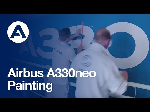 First A330neo painting