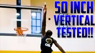 WHAT A 50 INCH VERTICAL LOOKS LIKE!!! (Daniel Kabeya Vertical Story)