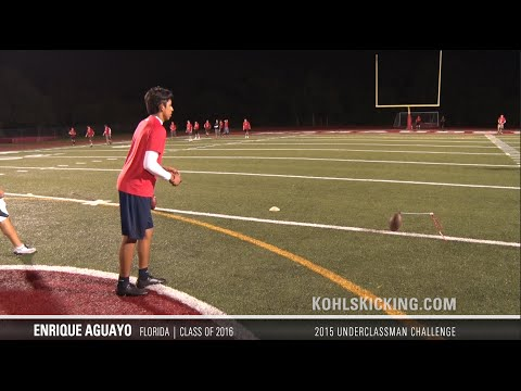 Ricky Aguayo | #3 Ranked Kicker in Nation | Class of 2016
