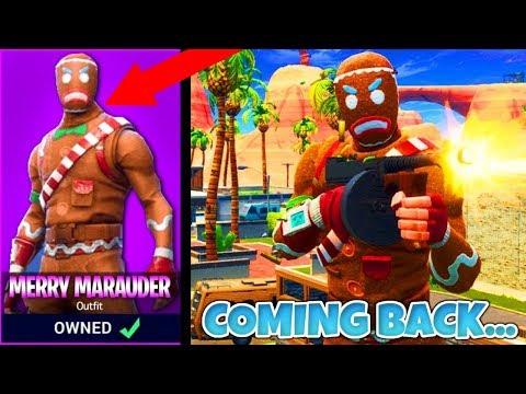 New Merry Marauder Official Release Date Confirmed In Fortnite