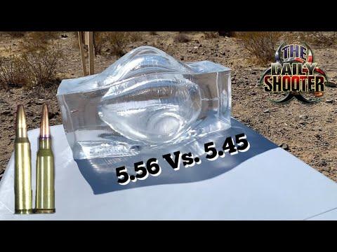 5.56 Vs. 5.45 Ballistics Gel Test