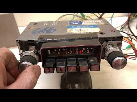 1980 - 1982 Chevrolet Citation GM X Body  AM/FM Radio - Excellent!