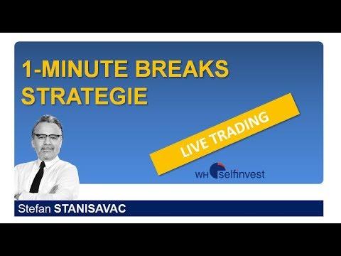 Live Trading 1 Minute Breaks Strategie