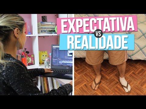 Expectativa x Realidade - YOUTUBER  (ft. Cristão Comédia)