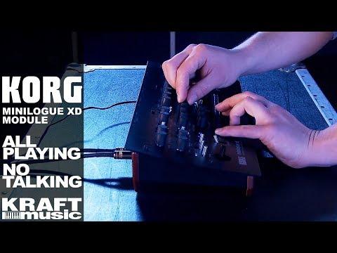 Korg Minilogue XD Module - All Playing No Talking!