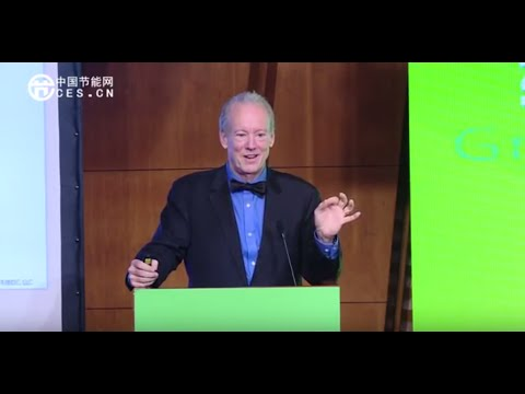 William McDonough keynotes 2015 Ecological Design Forum in China
