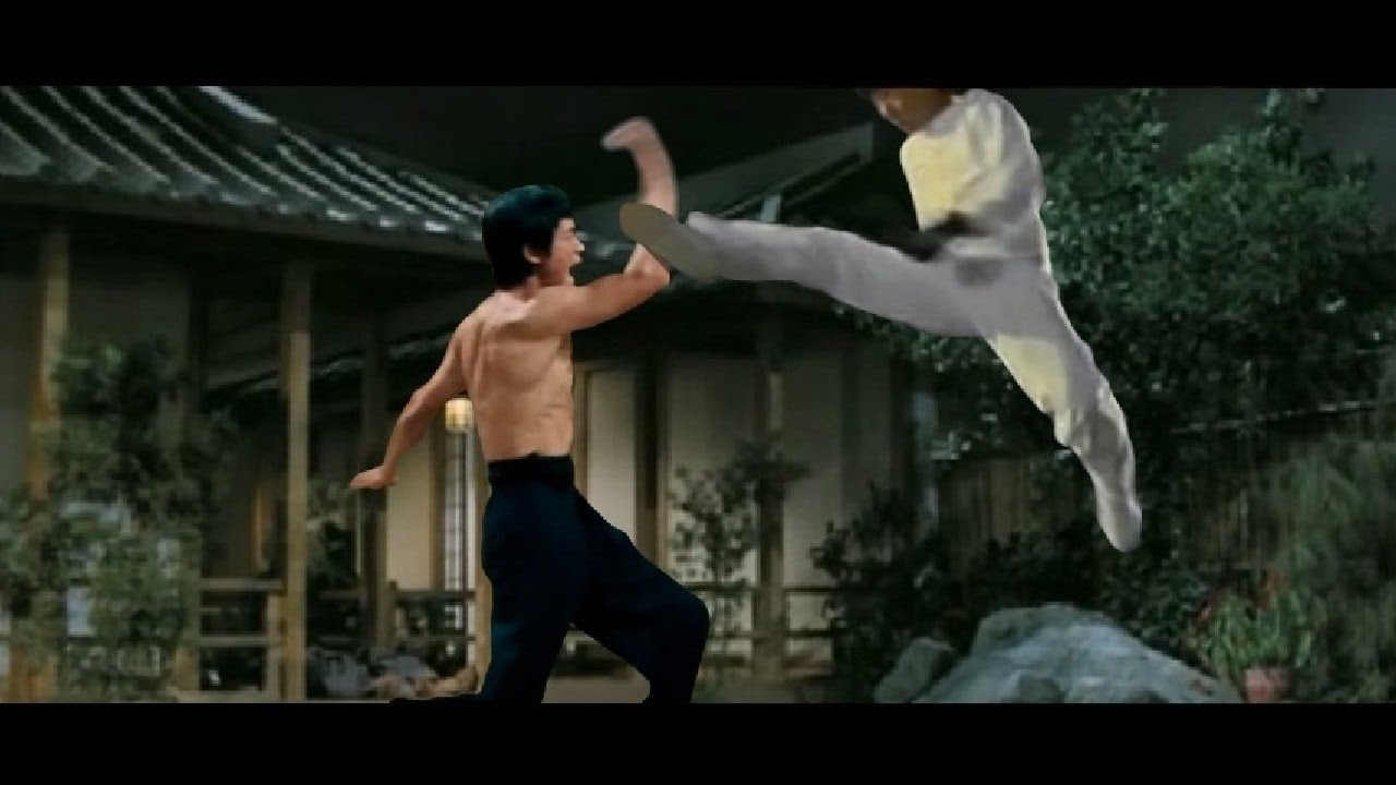 Bruce lee real practice vedio (fight) youtube.
