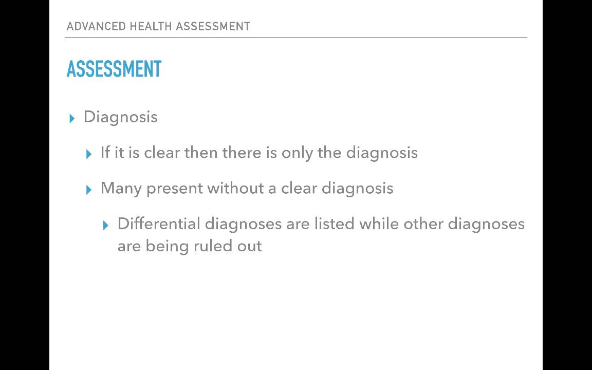 soap note assessment