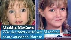 Maddie McCann: So könnte sich das in Portugal entführte Mädchen verändert haben